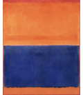 Mark Rothko - Arancione e Blu. Stampa su tela