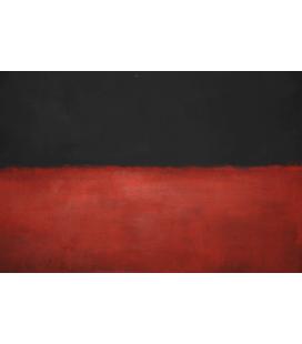 Stampa su tela: Mark Rothko - Black, Red