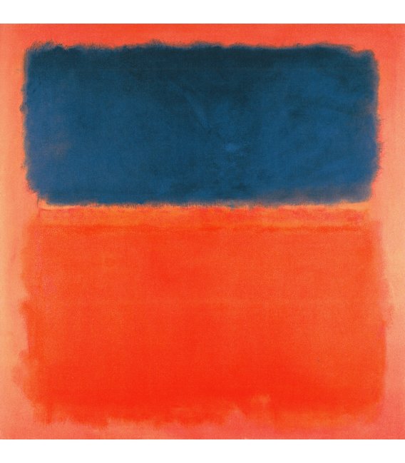 Printing on canvas: Mark Rothko - Blue Cloud