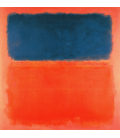 Mark Rothko - Blue Cloud. Printing on canvas