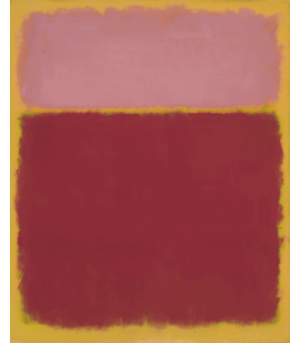 Mark Rothko - The re-discovery. Printing on canvas