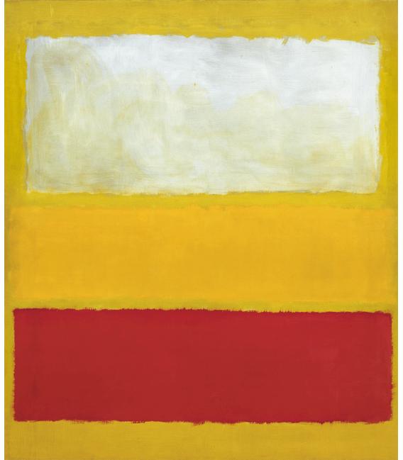 Printing on canvas: Mark Rothko - No. 13 (White