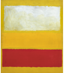 Printing on canvas: Mark Rothko - No. 13 (White
