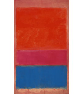 Printing on canvas: Mark Rothko - No. 1 (Royal Red and Blue)