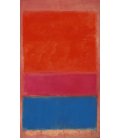 Mark Rothko - No. 1 (Royal Red and Blue). Printing on canvas