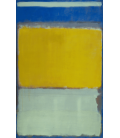 Printing on canvas: Mark Rothko - No. 10