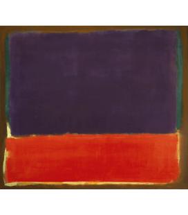 Mark Rothko - N°14. Stampa su tela