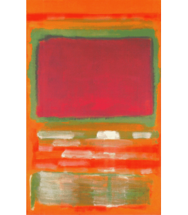 Mark Rothko - No. 15. Printing on canvas