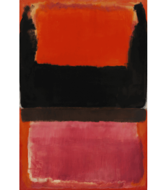 Printing on canvas: Mark Rothko - No. 21 (Red