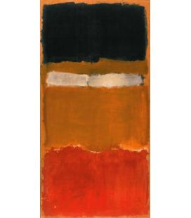Stampa su tela: Mark Rothko - N°24 untitled