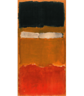 Mark Rothko - No. 24 untitled. Printing on canvas