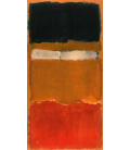 Mark Rothko - N°24 untitled. Stampa su tela