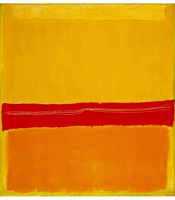 Printing on canvas: Mark Rothko - N°5 N°22