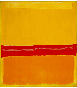 Mark Rothko - N°5 N°22. Printing on canvas