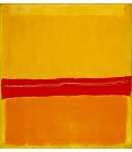 Mark Rothko - N°5 N°22. Printing on canvas