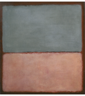 Printing on canvas: Mark Rothko - N°9