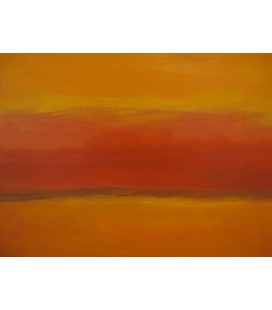 Printing on canvas: Mark Rothko - Orange and Red again
