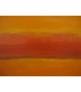 Mark Rothko - Arancione e Rosso di nuovo. Stampa su tela