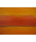 Stampa su tela: Mark Rothko - Orange and Red again