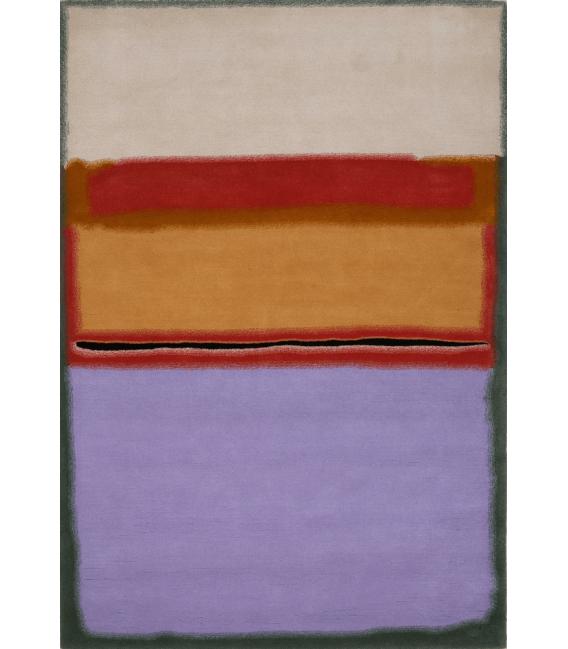 Stampa su tela: Mark Rothko - Orange over Violet