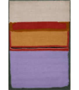 Mark Rothko - Orange over Violet. Printing on canvas