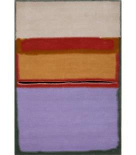Mark Rothko - Arancione su Viola. Stampa su tela