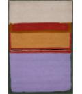 Mark Rothko - Orange over Violet. Printing on canvas