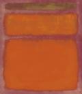 Printing on canvas: Mark Rothko - Orange