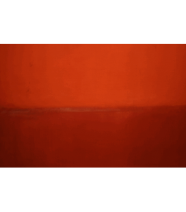 Mark Rothko - Red. Printing on canvas