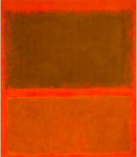 Mark Rothko - Rosso, rosso, rosso. Stampa su tela