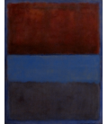 Printing on canvas: Mark Rothko - Rust and blue