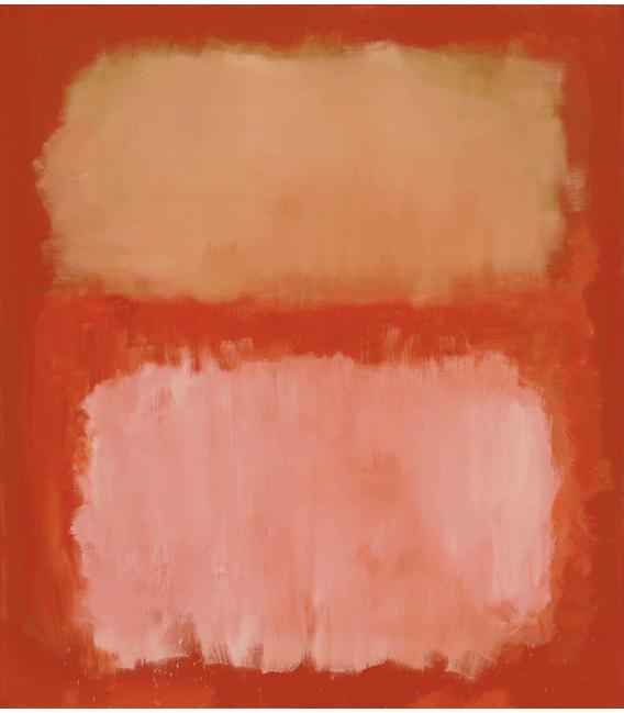 Printing on canvas: Mark Rothko - Untitled