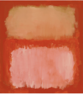 Mark Rothko - Untitled. Printing on canvas