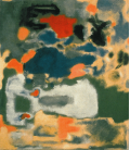 Printing on canvas: Mark Rothko - Untitled (1948)