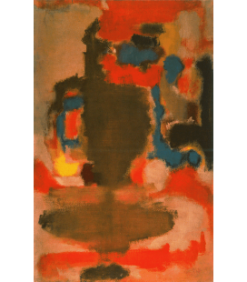 Mark Rothko - Untitled (1949). Printing on canvas