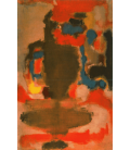 Stampa su tela: Mark Rothko - Senza titolo (1949)