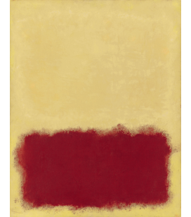 Mark Rothko - Untitled, 1958. Printing on canvas
