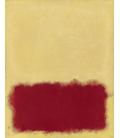 Mark Rothko - Senza titolo, 1958. Stampa su tela
