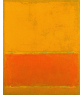 Mark Rothko - The Green Stipe. Printing on canvas