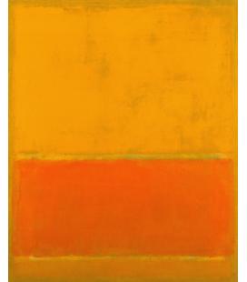 Stampa su tela: Mark Rothko - The Green Stipe