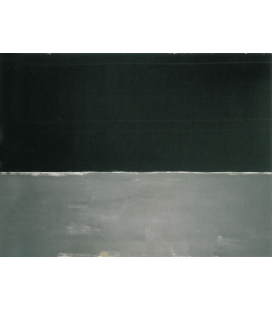 Stampa su tela: Mark Rothko - Untitled (Black on Gray)
