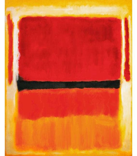 Printing on canvas: Mark Rothko - Untitled (Violet
