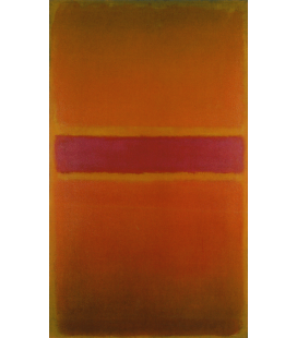 Stampa su tela: Mark Rothko - Violet Stripe