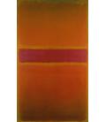 Mark Rothko - Violet Stripe. Printing on canvas