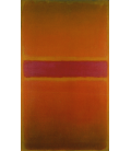 Mark Rothko - Strisce Viola. Stampa su tela