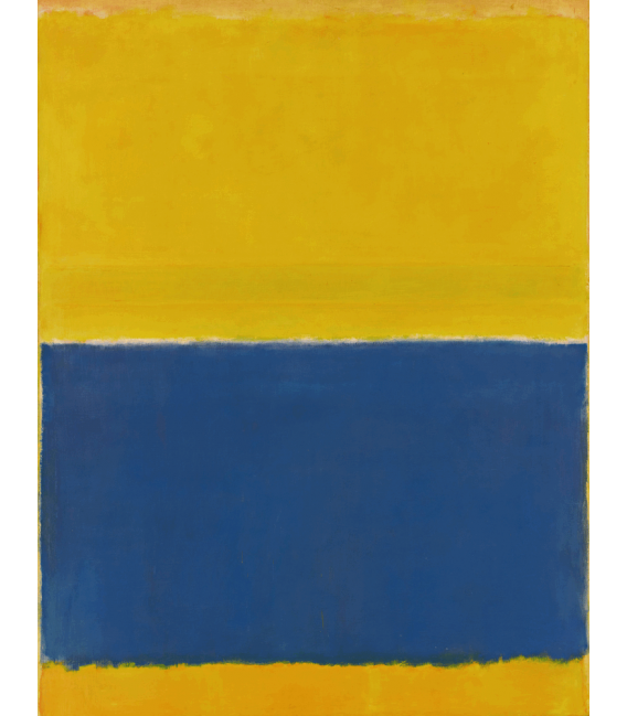 Printing on canvas: Mark Rothko - Yellow and Blue