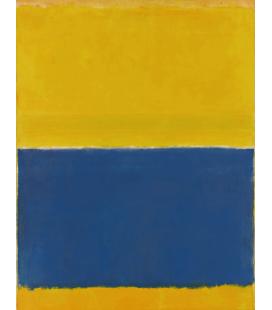Stampa su tela: Mark Rothko - Yellow and Blue