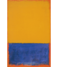 Printing on canvas: Mark Rothko - Yellow and Blue and Orange