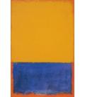 Stampa su tela: Mark Rothko - Yellow and Blue and Orange