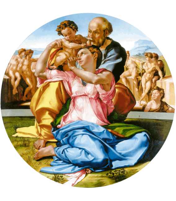 Printing on canvas: Michelangelo Buonarroti - Doni Tondo